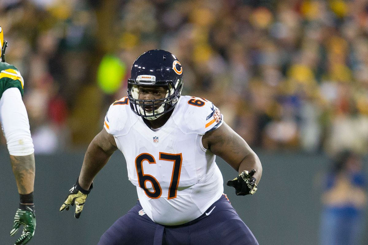 Jordan Mills has been a mainstay on the Bear's offensive line.