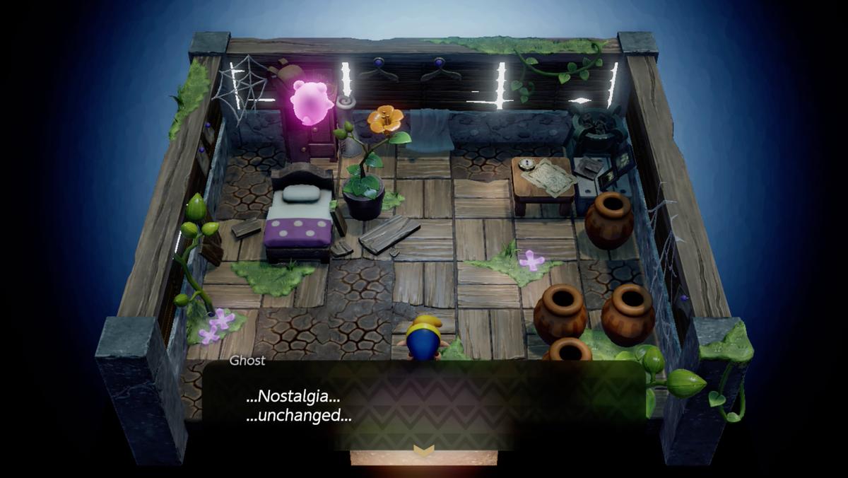 Link's Awakening Martha's Bay Ghost's house