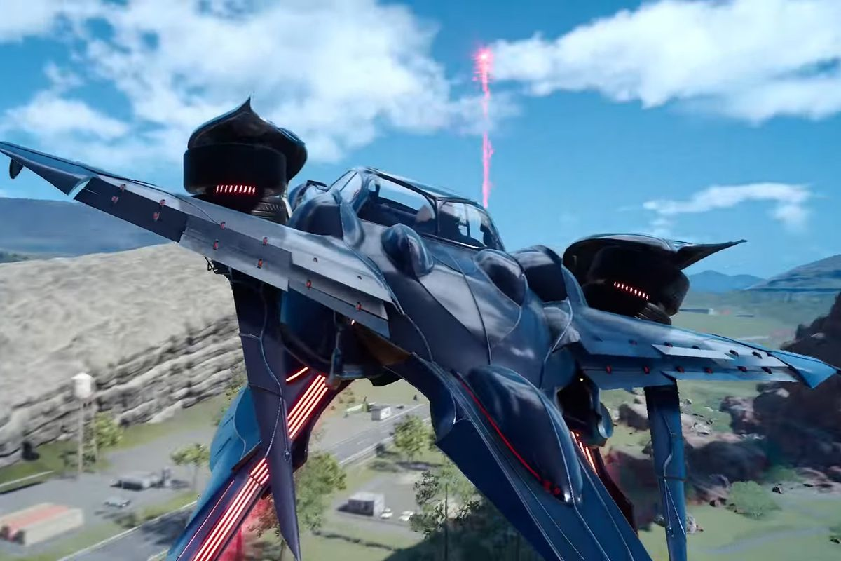 How do you unlock Final Fantasy 15's flying car, the Regalia