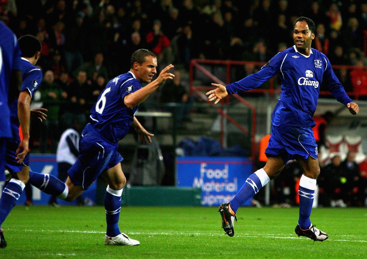 Standard Liege v Everton - UEFA Cup