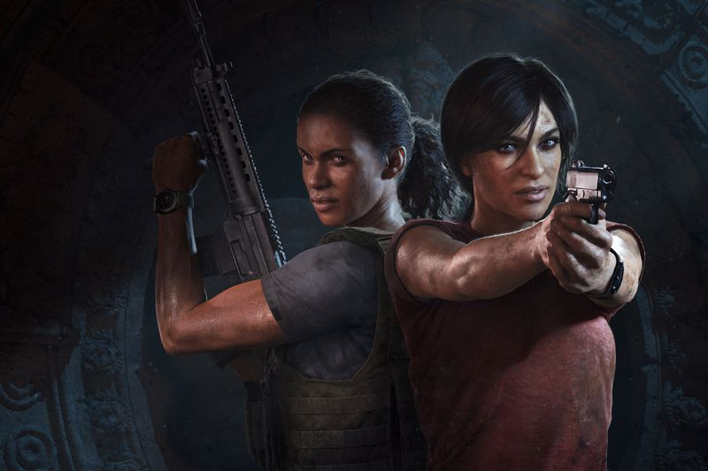 Uncharted: The Lost Legacy - Nadine/Chloe art