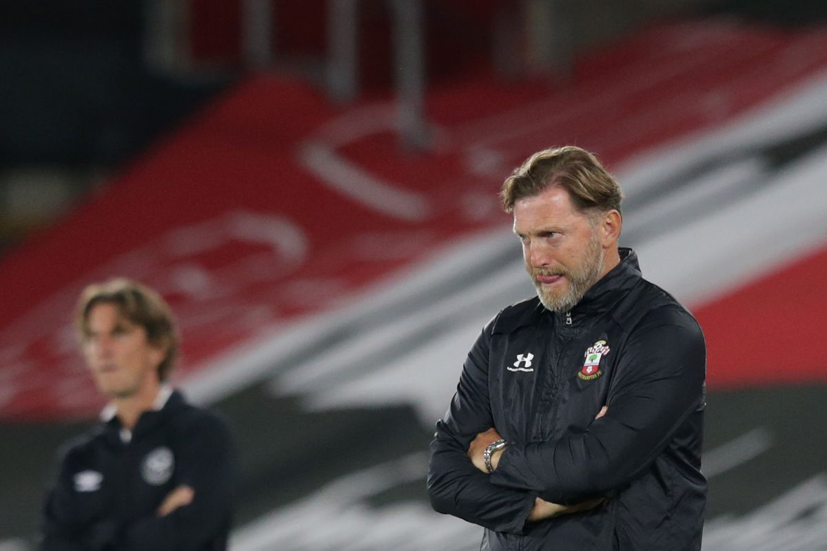 Southampton v Brentford - Carabao Cup Second Round knocked out 2-0 Ralph Hasenhuttl unfit squad