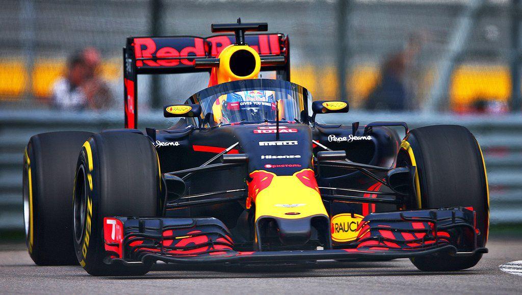 Red Bull racing's aeroscreen in photos