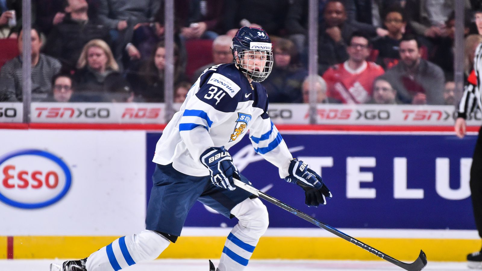2017 NHL Draft Profile: Big and powerful, Kristian Vesalainen could give the Canes something they lack