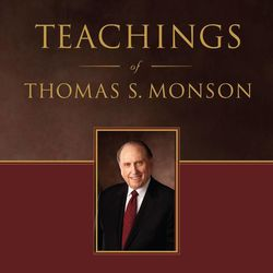 """""""Teachings of Thomas S. Monson"""" is a companion to his biography, """"To The Rescue."""" The volume contains inspired teachings that span President Monson's five decades as a general authority of the LDS Church."""