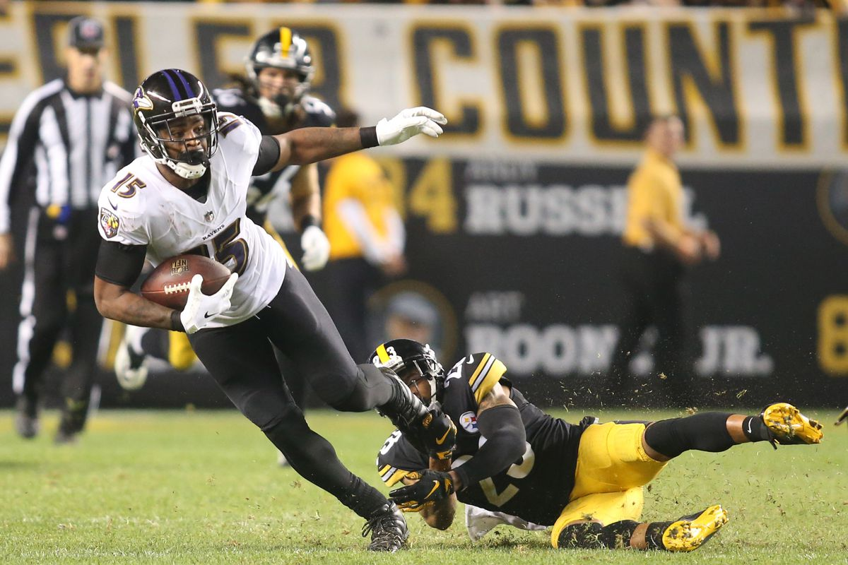 8afc256a Instant Reactions: Ravens cut WR Michael Crabtree - Baltimore Beatdown