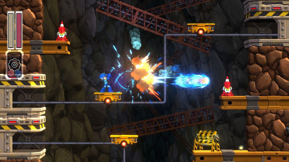 mega man 11 screen