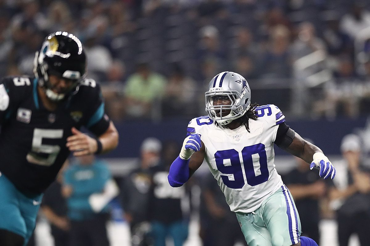 sports shoes c79fa 17240 Report: DeMarcus Lawrence wouldn't sign a second franchise ...