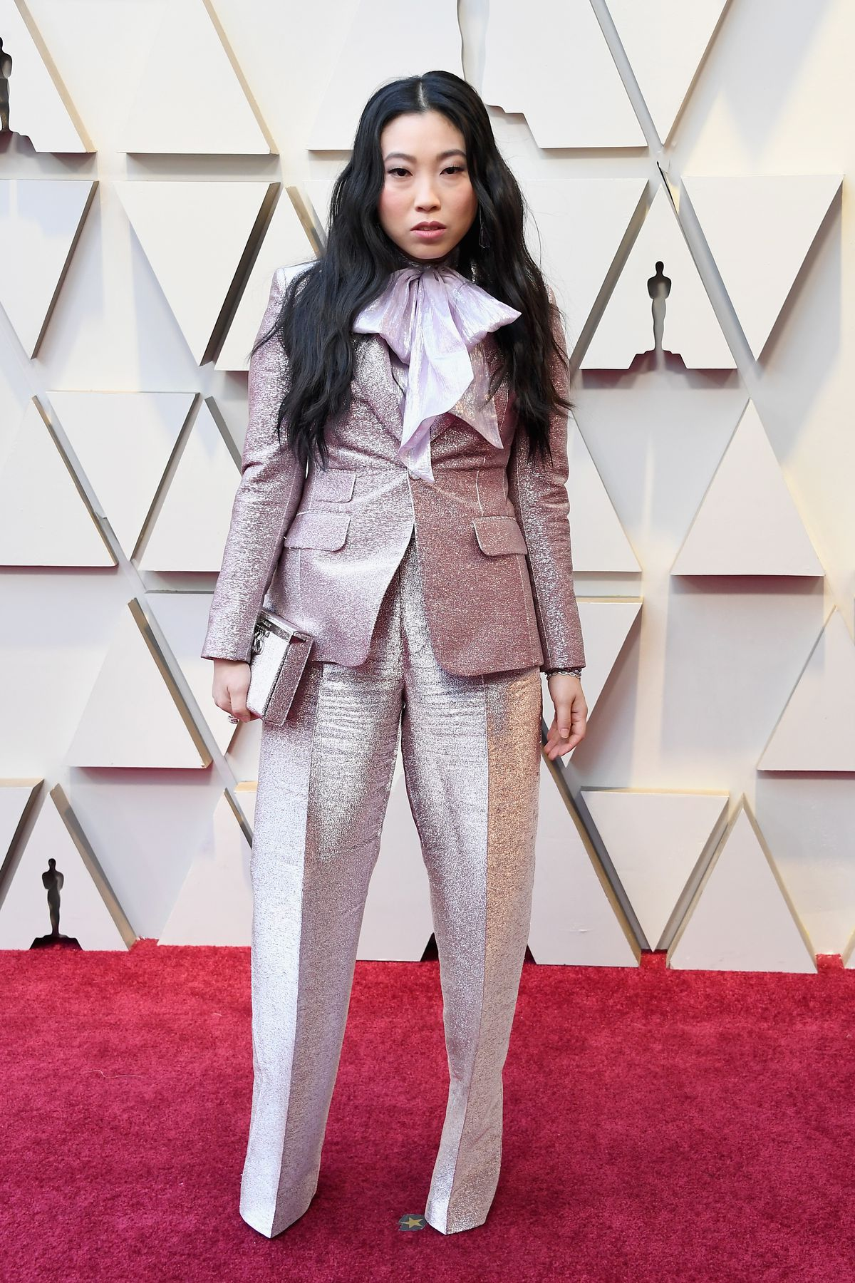 541e2291d ABC via Getty Images Awkwafina in DSquared2. Steve Granitz/WireImage