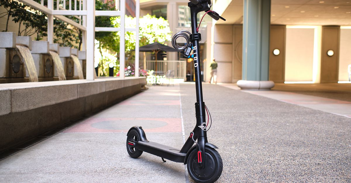 Bird is reportedly taking its electric scooter company public via SPAC thumbnail