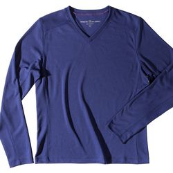 """<span class=""""credit"""">Aeon Sweatshirt, <a href=""""http://www.ministryofsupply.com/aeon.html"""">$78</a> in Midnight Purple and Pewter</span><p>"""