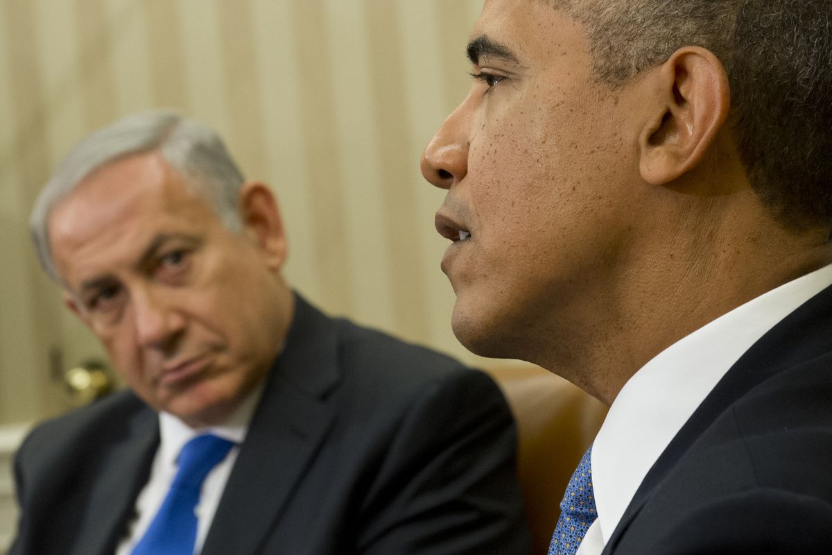 Netanyahu and Obama meet in Washington in March 2014