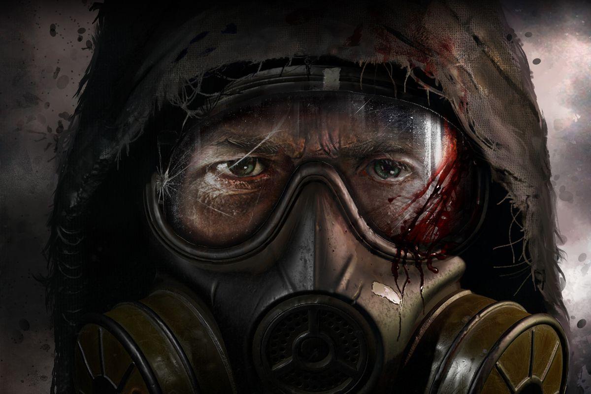 STALKER 2 gas mask art
