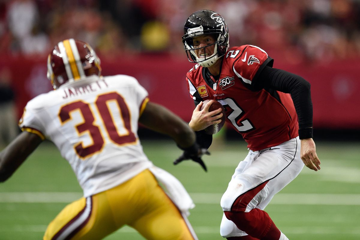 NFL: Washington Redskins at Atlanta Falcons