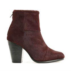 "<b>Rag & Bone</b> Classic Newbury Ankle Boot in burgundry, <a href=""http://www.rag-bone.com/Classic_Newbury/pd/cl/8238/np/201/p/3602.html"">$625</a>"