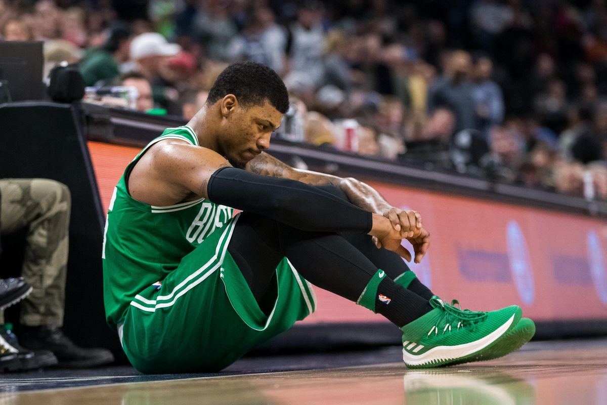 Marcus Smart To Undergo Thumb Surgery, Hopeful For Return During Playoffs