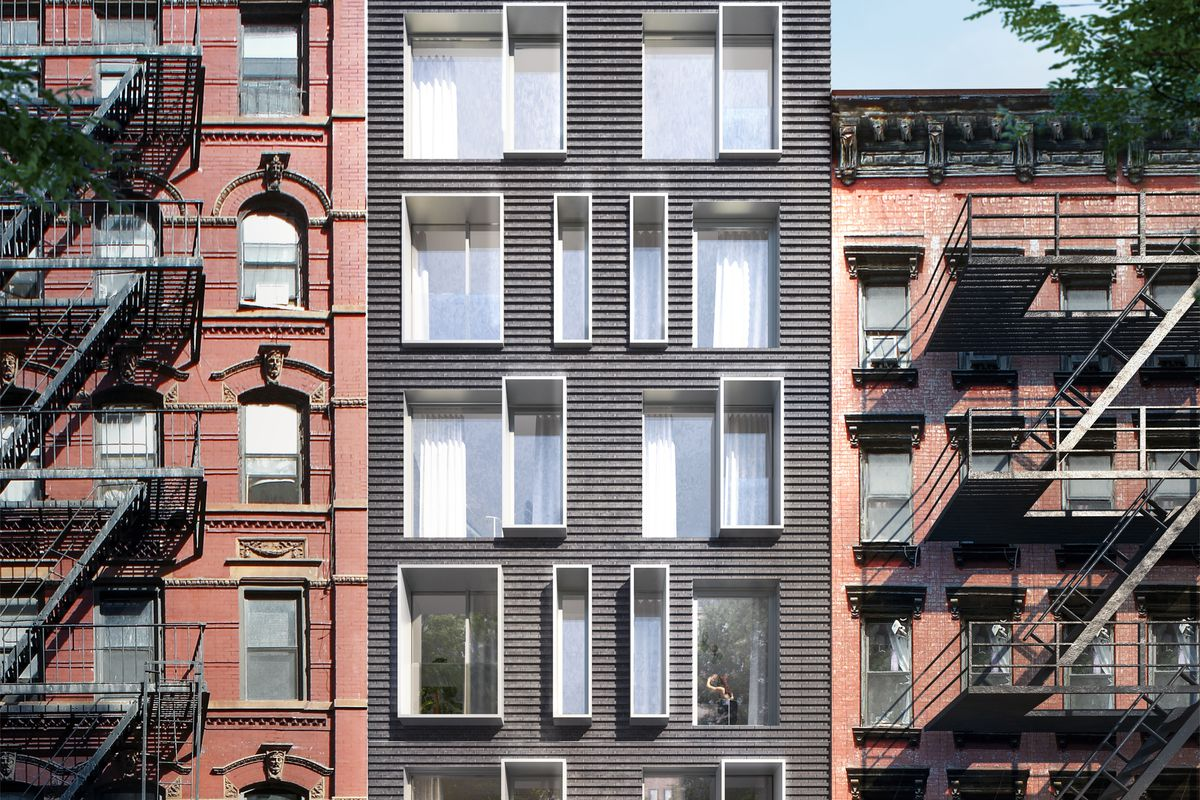 Manhattan's first luxury modular condo tops out on the ...
