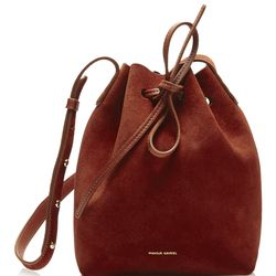 Suede bucket bag, sold out