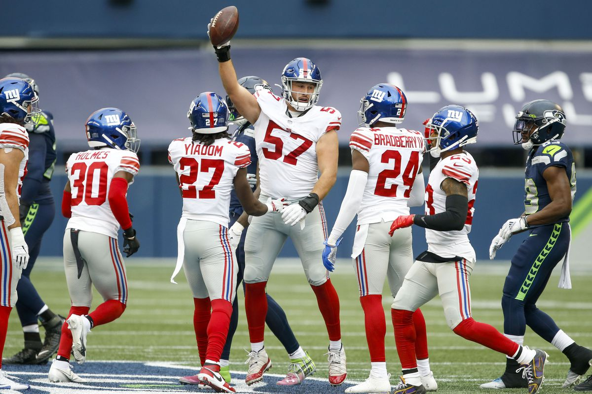 NFL: New York Giants at Seattle Seahawks