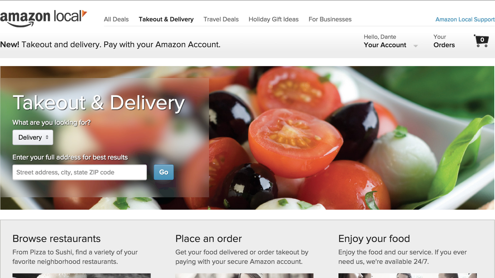 Food Delivery Sites Like Grubhub