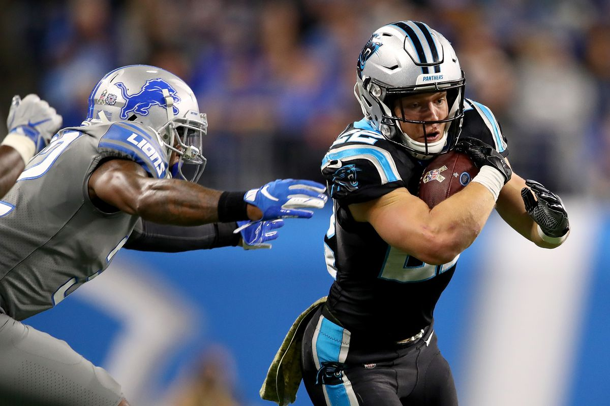 NFL DFS: Best lineup strategy for Lions vs. Panthers Madden simulation  Showdown - DraftKings Nation