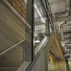 Staircase to the mezzanine. [EHTX]
