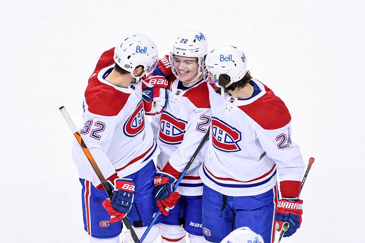 NHL: APR 26 Canadiens at Flames