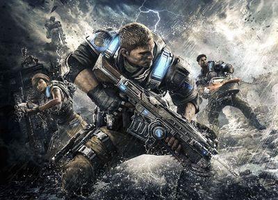 Gears of War 4 art