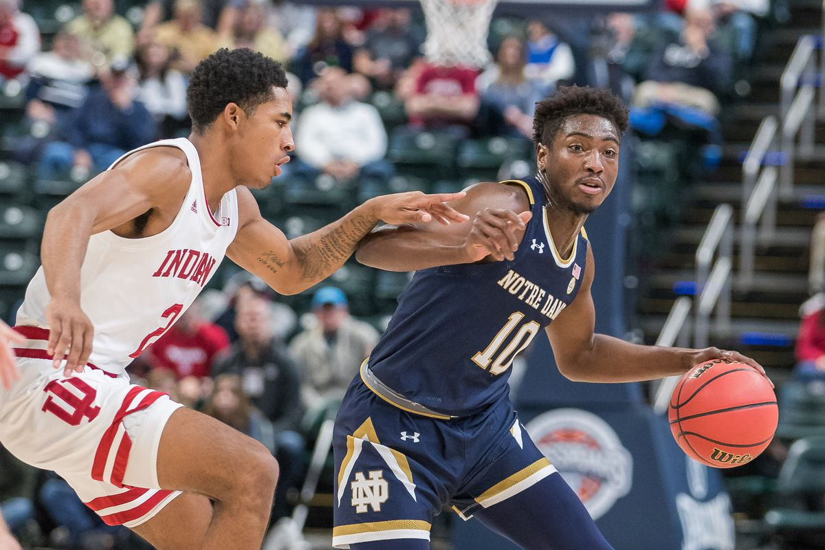 NCAA Basketball: Crossroads Classic-Notre Dame at Indiana