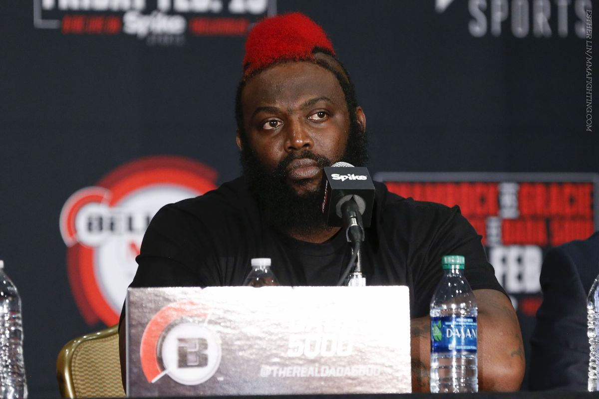 dada 5000 suffers major medical scare after loss to kimbo slice