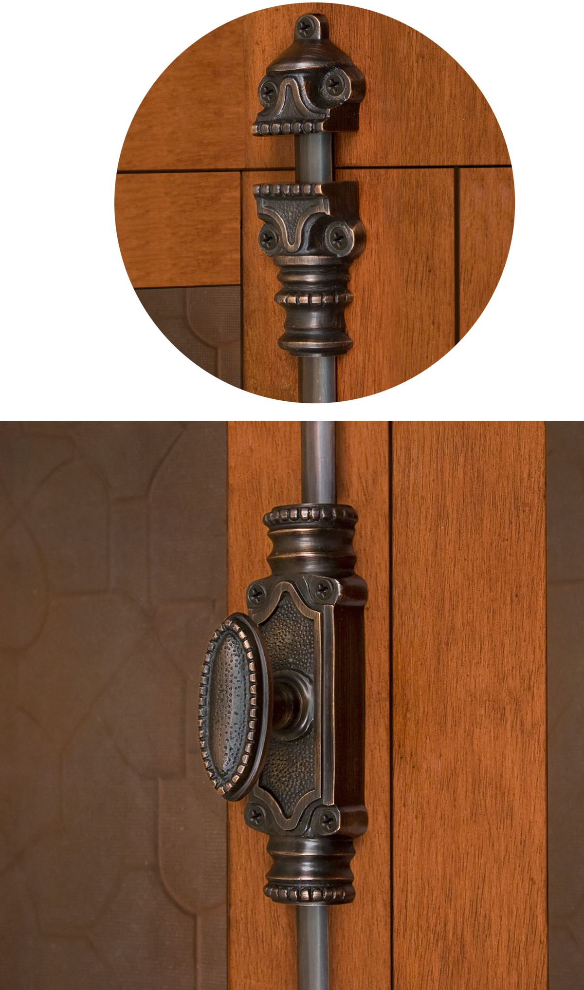 Cremone Bolts On Exterior French Doors