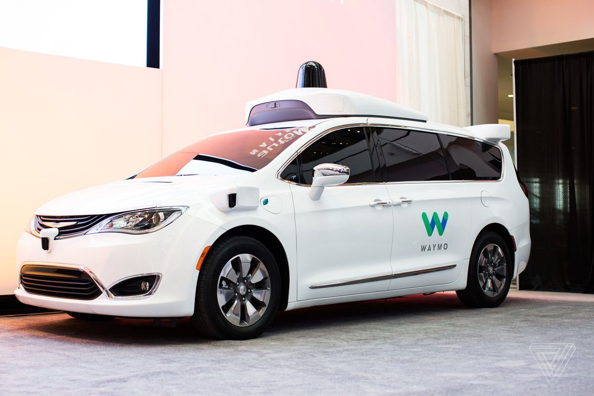 Waymo Orders Thousands Of Self-Driving Pacifica Minivans
