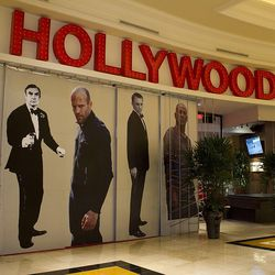 Just a few of the celebrity touches from Planet Hollywood Restaurant & Bar.