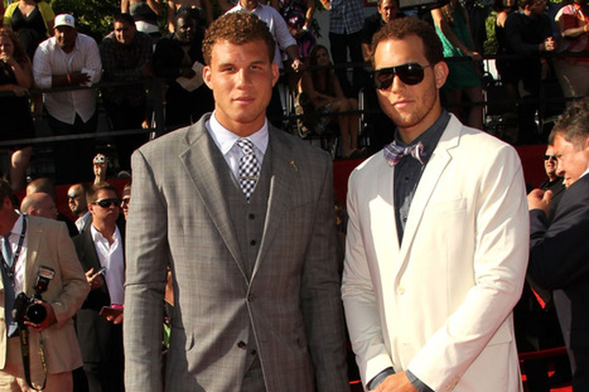 Taylor Griffin: Professional member of the entourage. (Blake Griffin on left, some guy on right)
