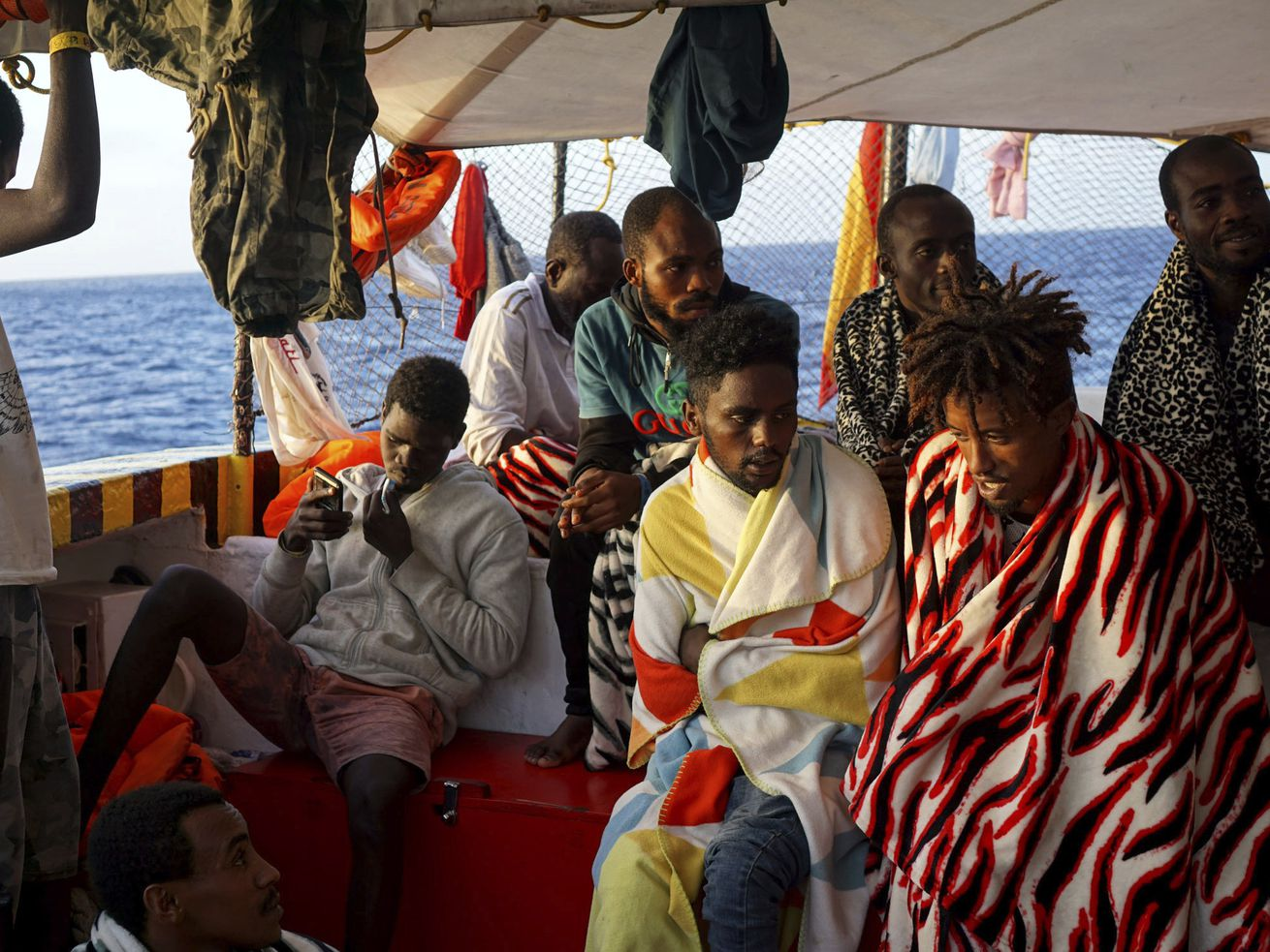Italy's political crisis on display in migrant boat battle