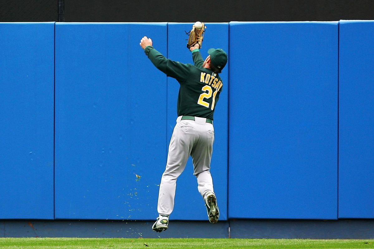 Remember when you expected an Oakland outfielder to catch the ball?