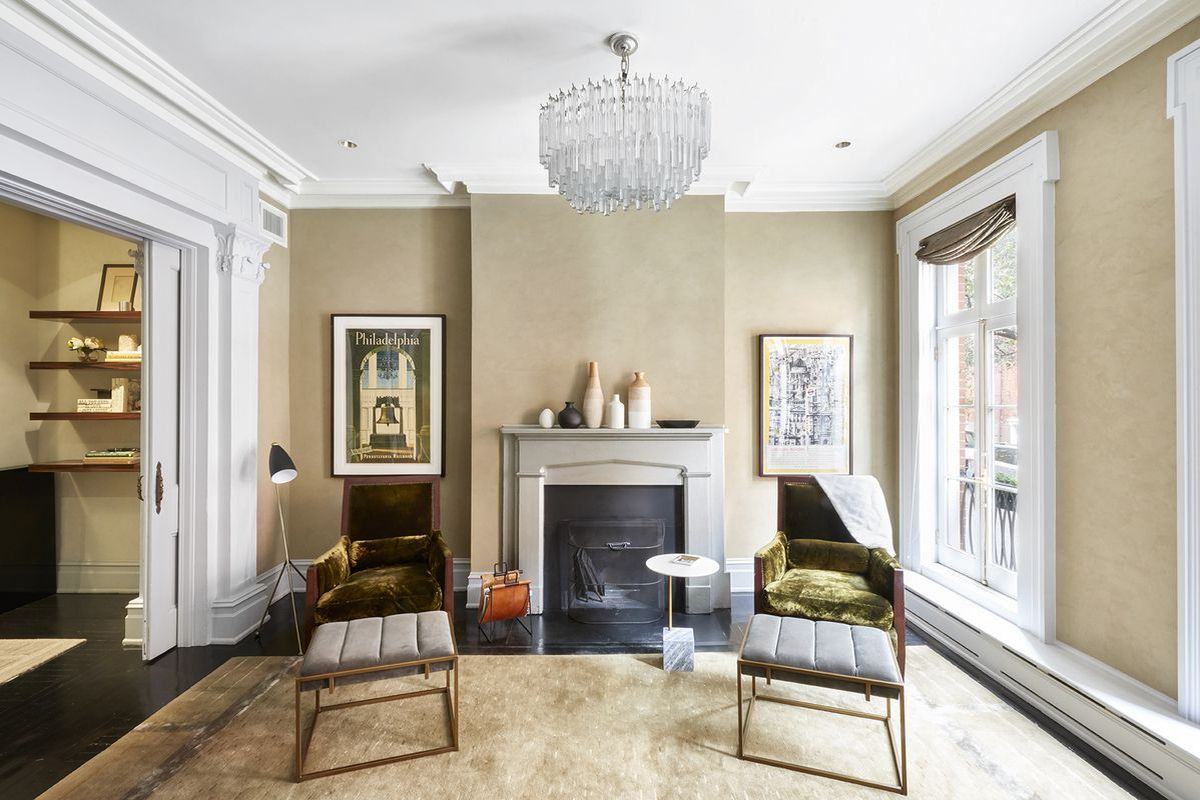 On author 39 s row in the west village a 97 year old for West village townhouse for sale