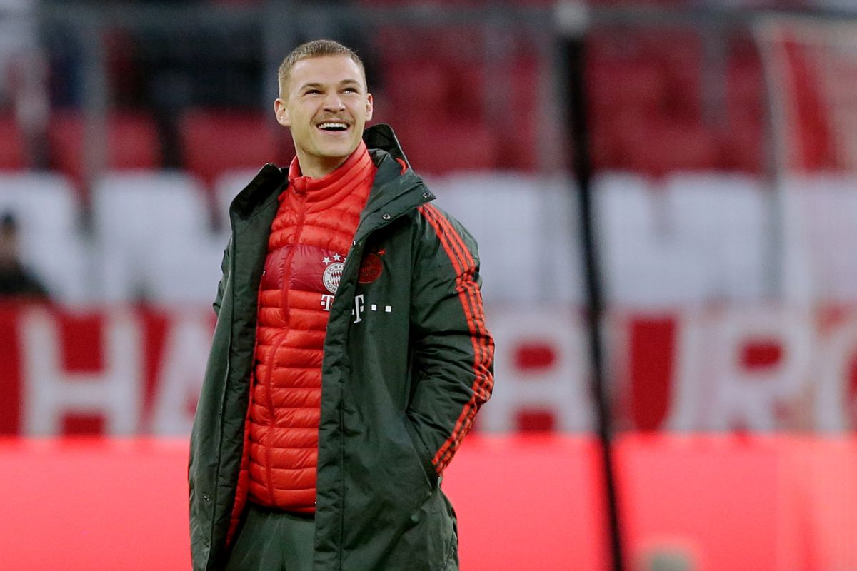 info for 04d1a 07043 Bayern Munich fans stop man from taking Joshua Kimmich's ...