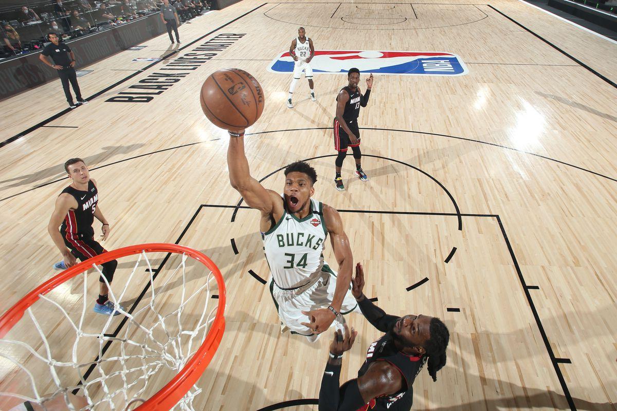 Milwaukee Bucks v Miami Heat - Game Four
