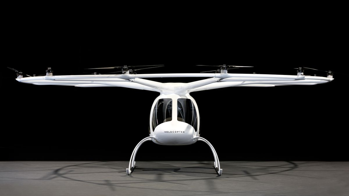 This 18-rotor Electric 'flying Taxi' Will Be Buzzing