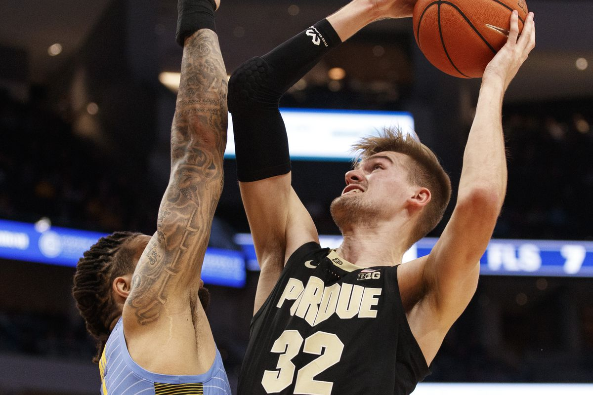 College Basketball Rankings November 25 Purdue Receives