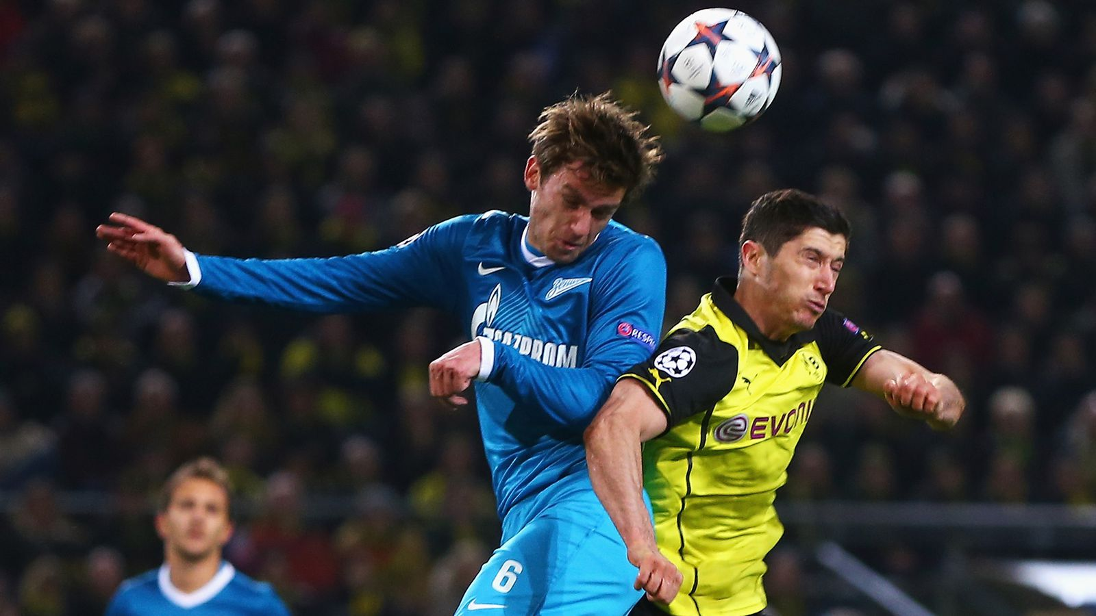 UEFA Champions League 2014, Borussia Dortmund vs. Zenit St ...