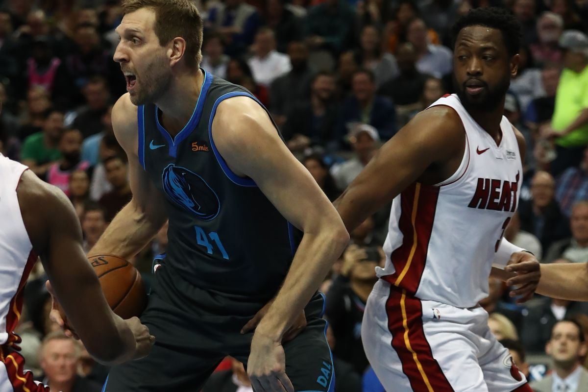 Dwyane Wade can't stop shading Dirk Nowitzki - Mavs Moneyball