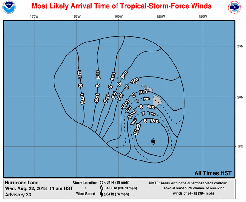 EP142018_most_likely_toa_no_wsp_34_33 Hawaii is facing a rare threat: a major  hurricane