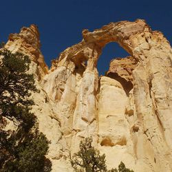 Grosvenor Arch, Escalante National Monument, Grand Staircase. Personal Photo by Ravell Call, September 14, 2003