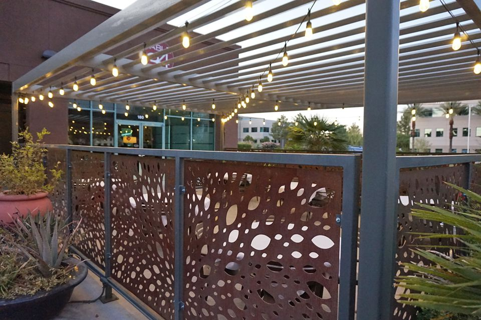 The patio at Table 34