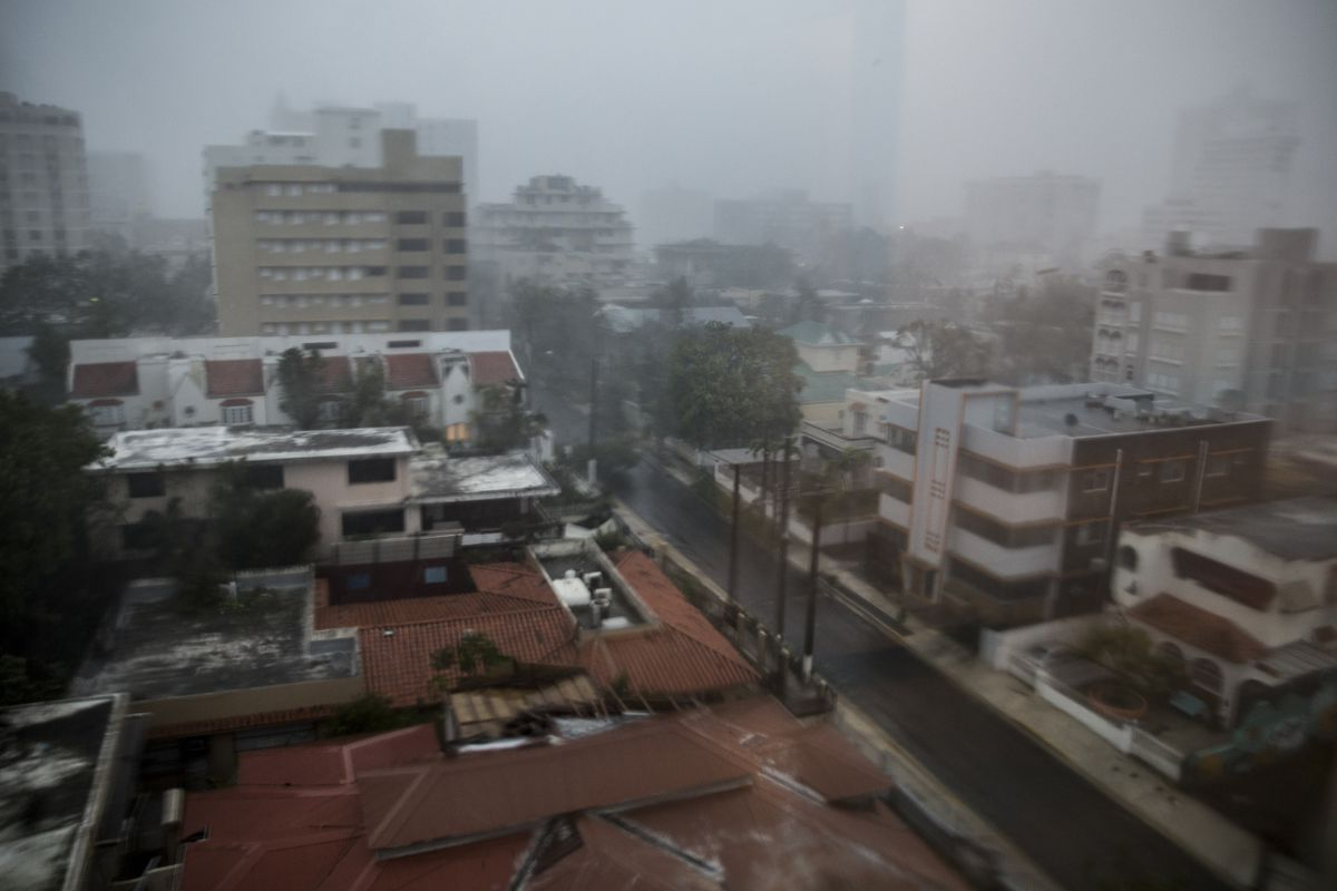 Hurricane Maria has left all of Puerto Rico without power