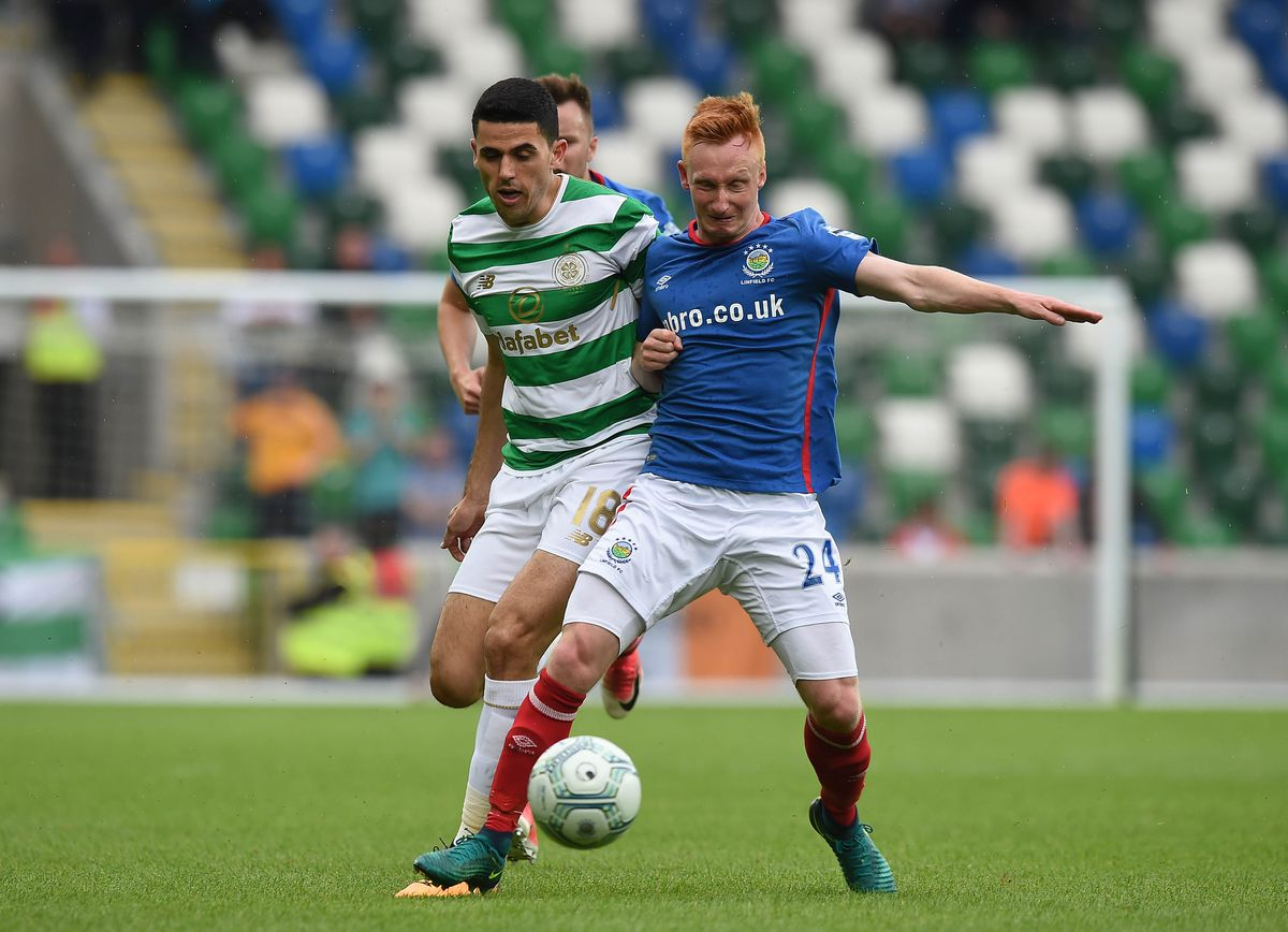 Linfield v Celtic - UEFA Champions League Qualifying Second Round: First Leg