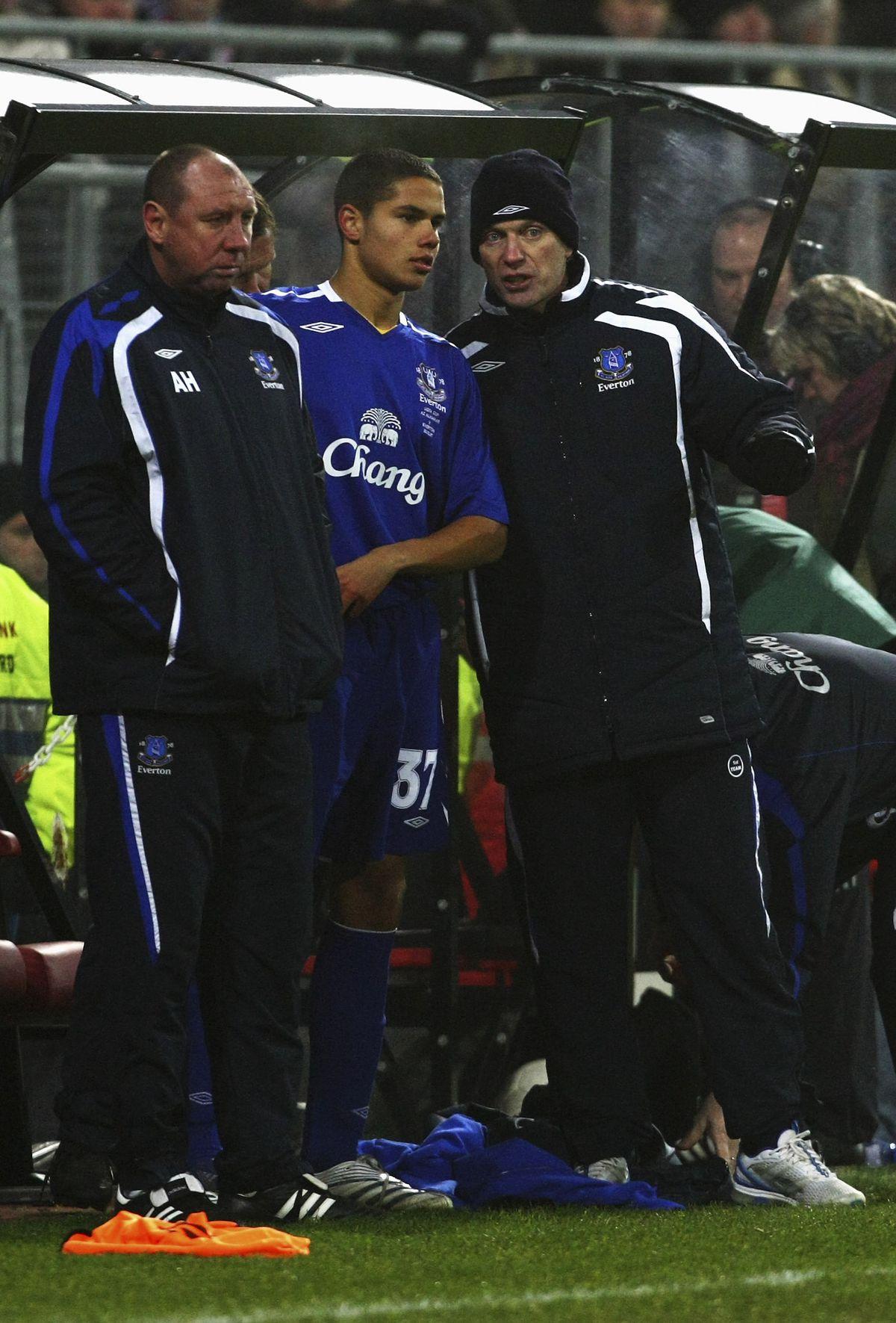 AZ v Everton - UEFA Cup