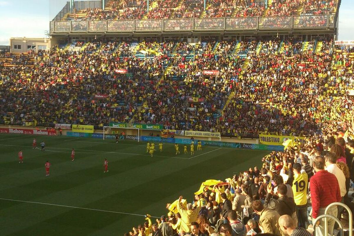 Filling stands in Vila-real despite the continuing economic crisis: Sr. Roig shows how to do it